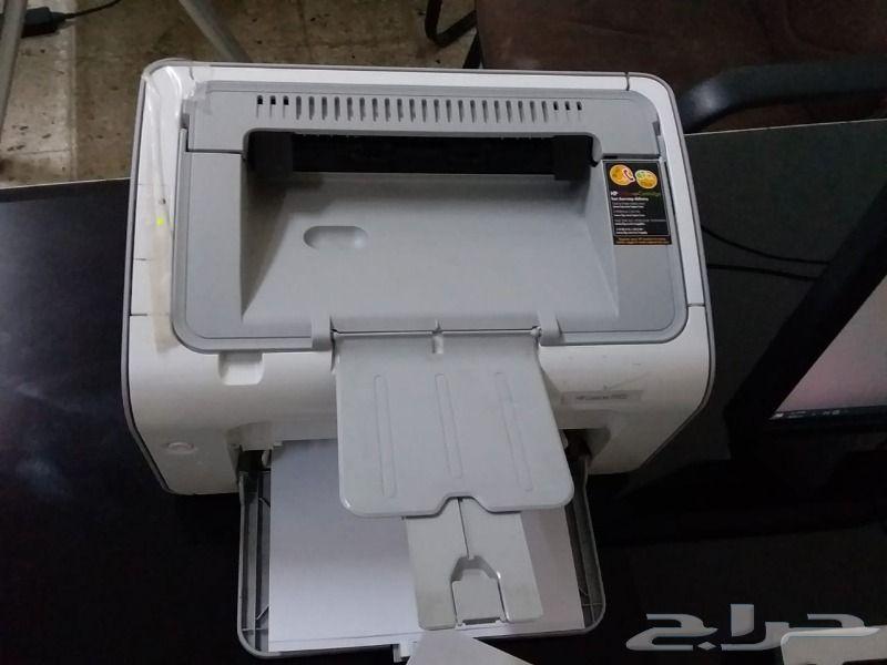 طابعة HP 1102 بحالة جيدة تم البيع