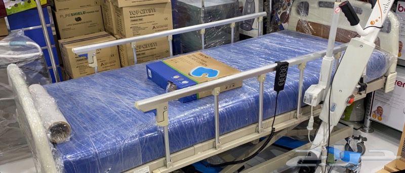 سرير مستشفى رافعة كبار سن منفاخ للظهر اوكسجين