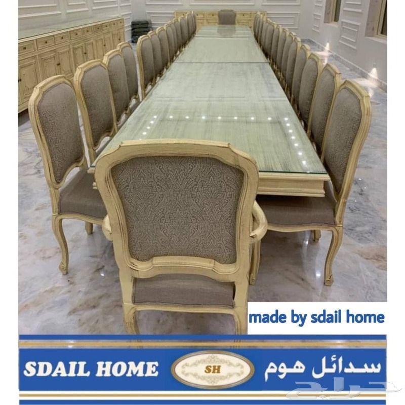 تفصيل طاولات طعام وبوفيه