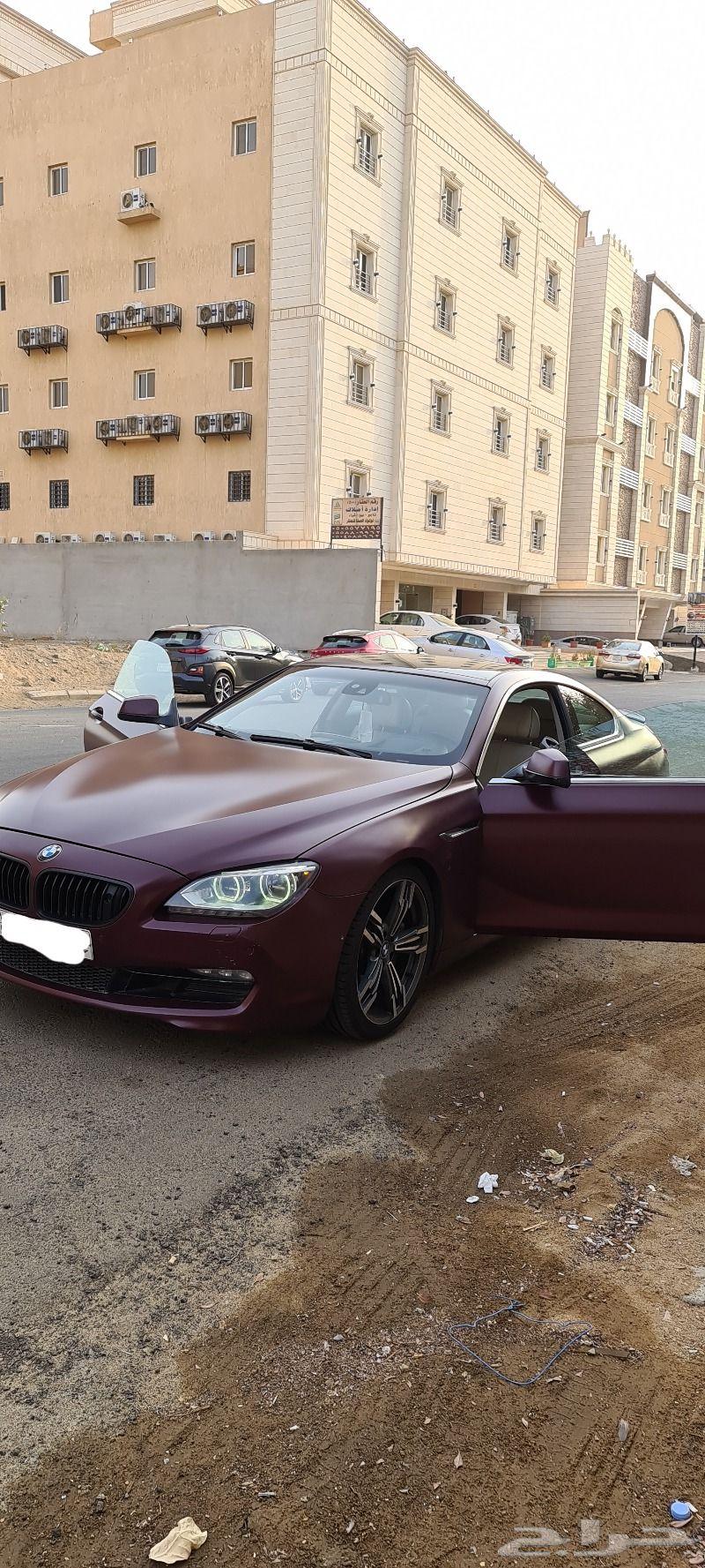 للبيع او للبدل بي ام 650 موديل 2012