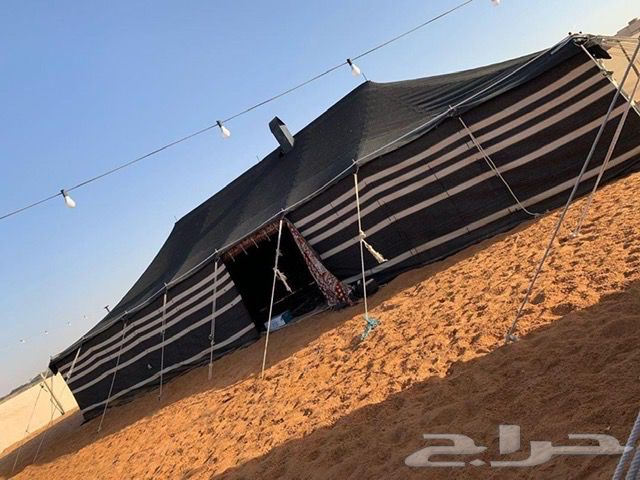 مخيم (سكاي) قسم واحد للايجار المشاعلة
