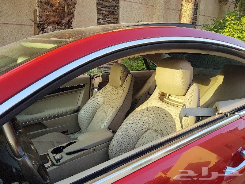 سيارة مرسيدس كوبيه E350 نظيفة ماشاء الله