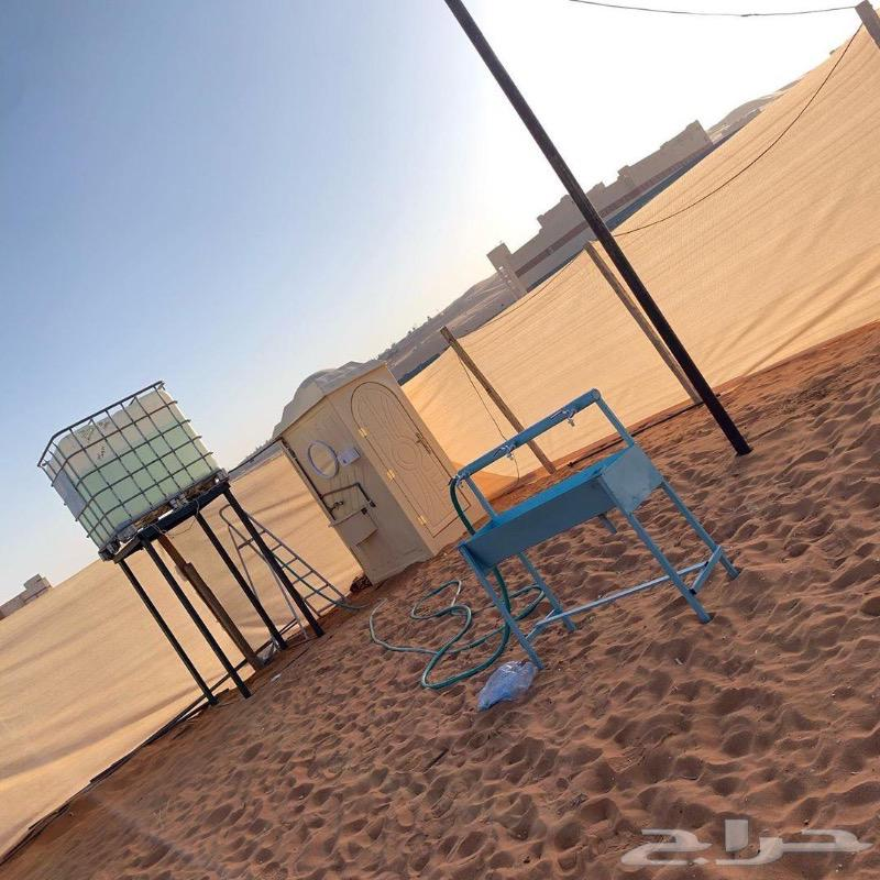 مخيم (سكاي) للايجار بعد المزاحمية المشاعلة