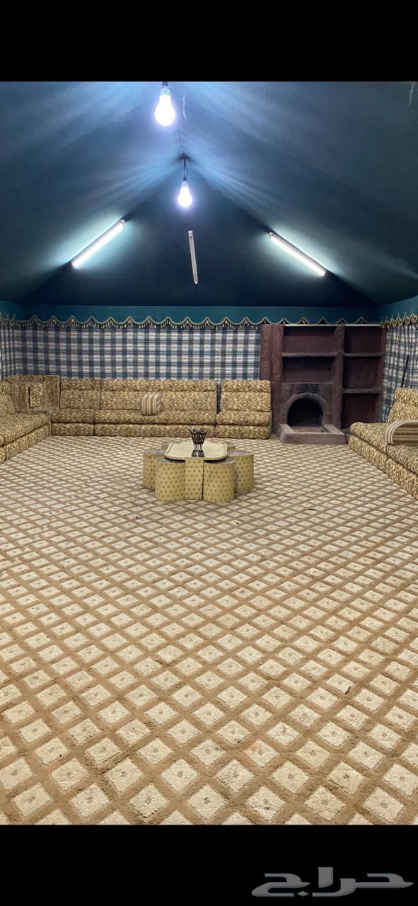 مخيم الهدا الايجار في المزاحمية طريق الخرارة