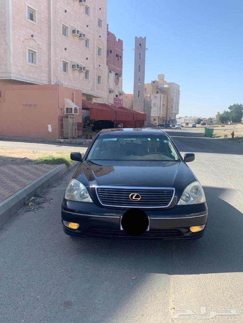 لكزس LS 430 2003 سعودي