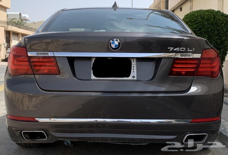 BMW 730 فل كامل 2015 - كيت خارجي 740 وكالة