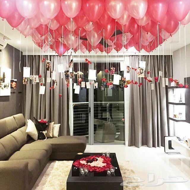 تنسيق غرف فنادق للعرسان وذكرى الزواج